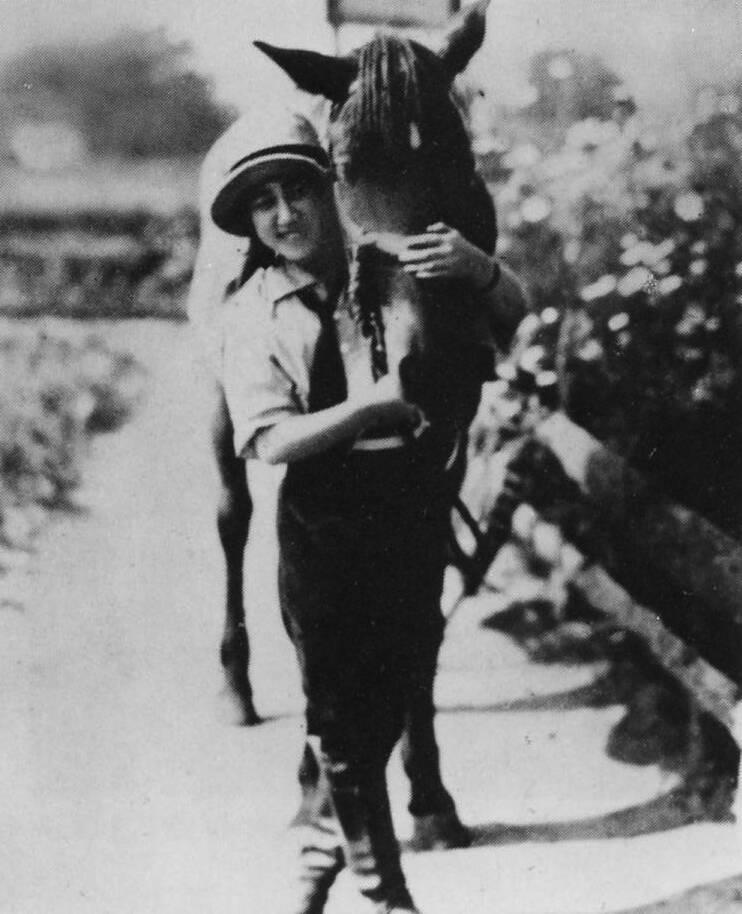 Kawashima Yoshiko Horse