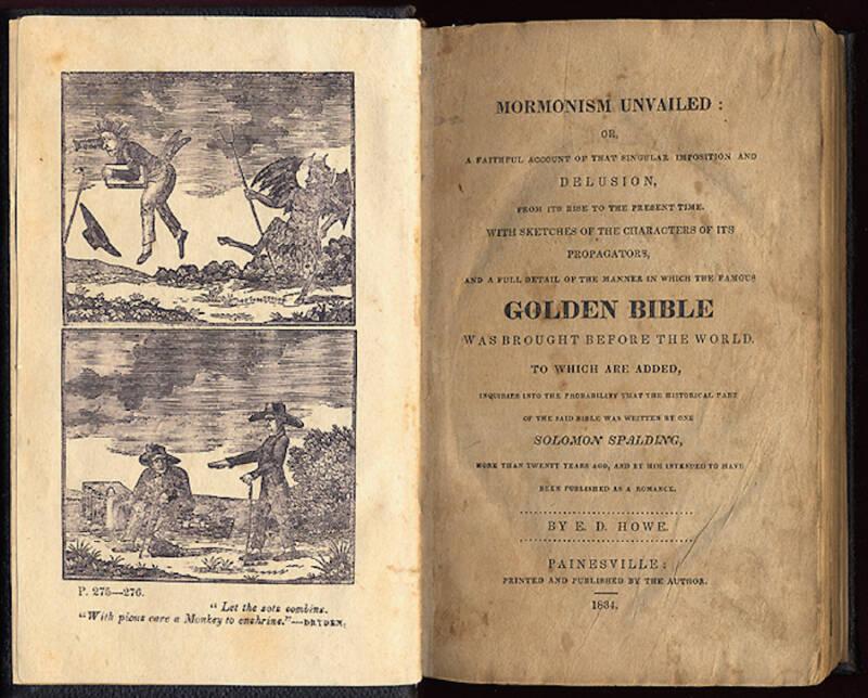 Mormonism Unvailed Book
