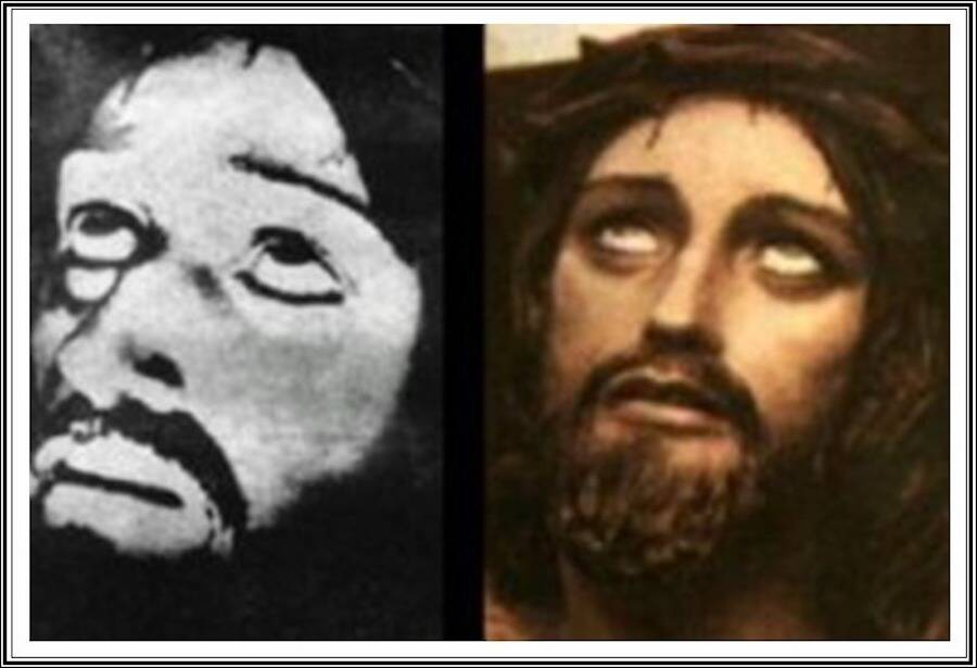 Photo Of Jesus And Painting