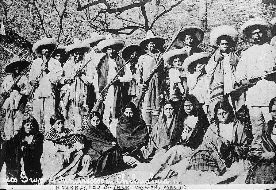 Revolutionaries And Adelitas