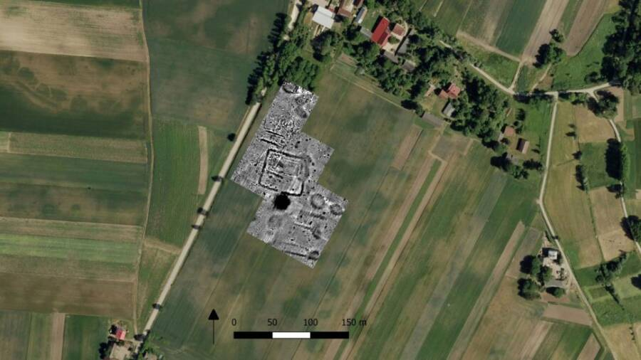 Satellite Images Of Cemetery