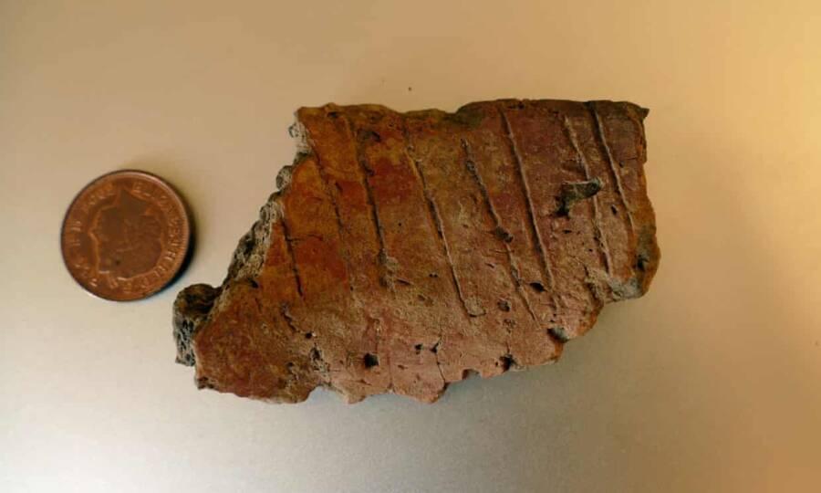 Skokholm Pottery Fragment