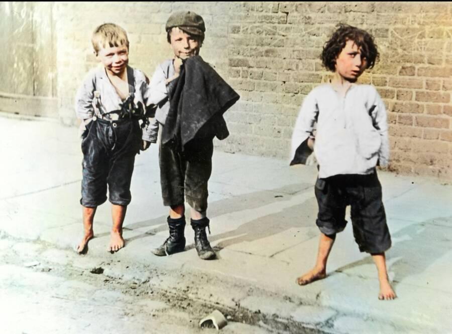 Three London Children