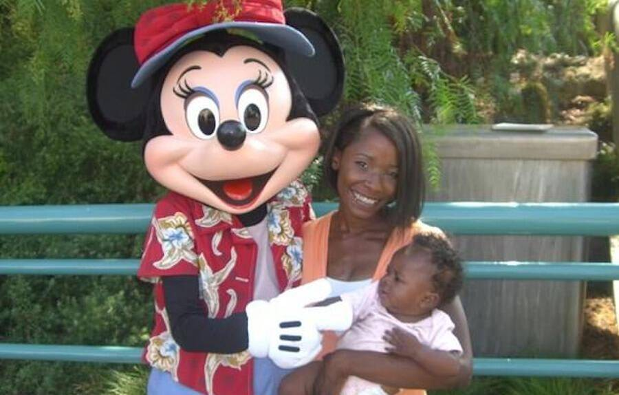 Za Zell Preston At Disneyland