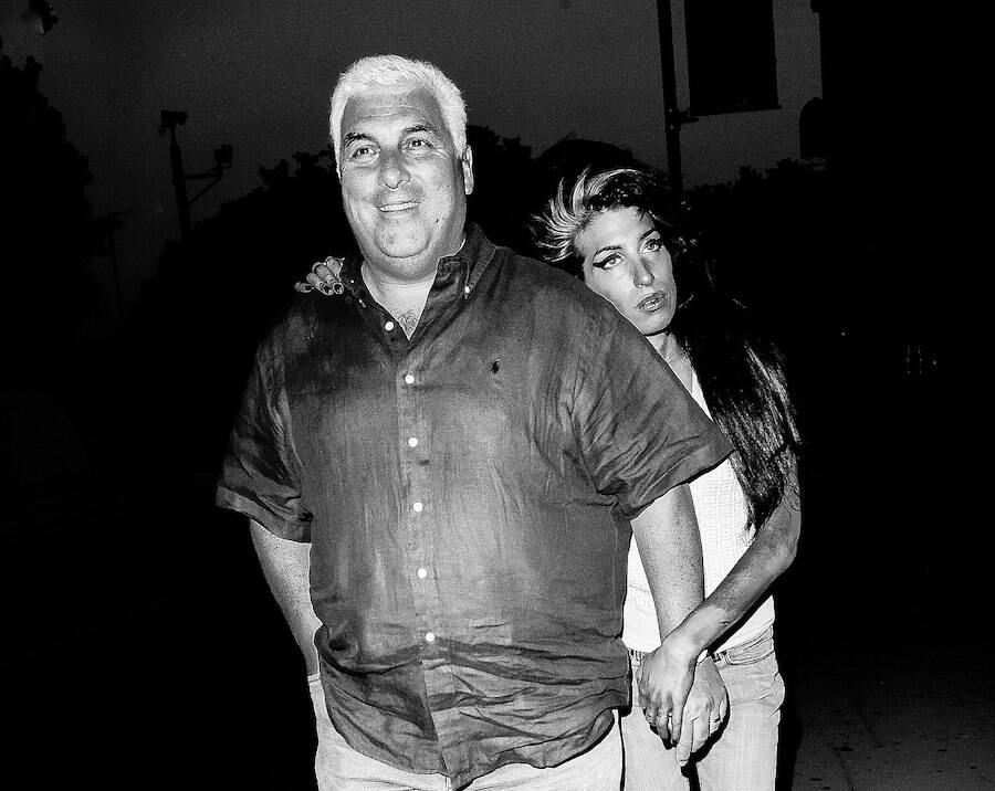 Amy Winehouse With Her Dad