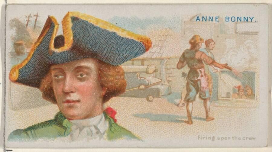 Anne Bonny Lithograph
