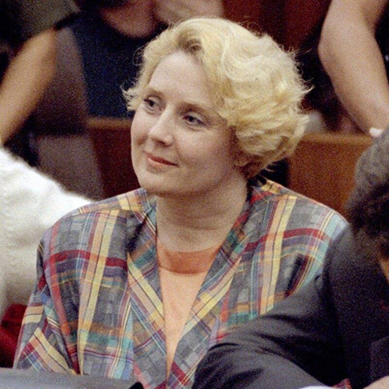 Betty Broderick Smiling In Court
