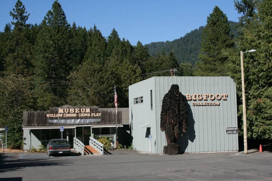 Bigfoot Museum In Willow Creek