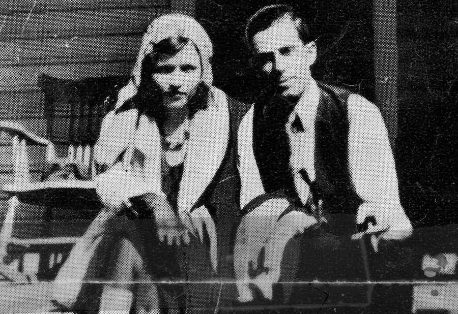 Blanche And Buck Barrow
