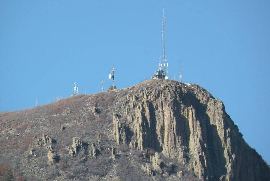 Dulce Base New Mexico Radio Towers