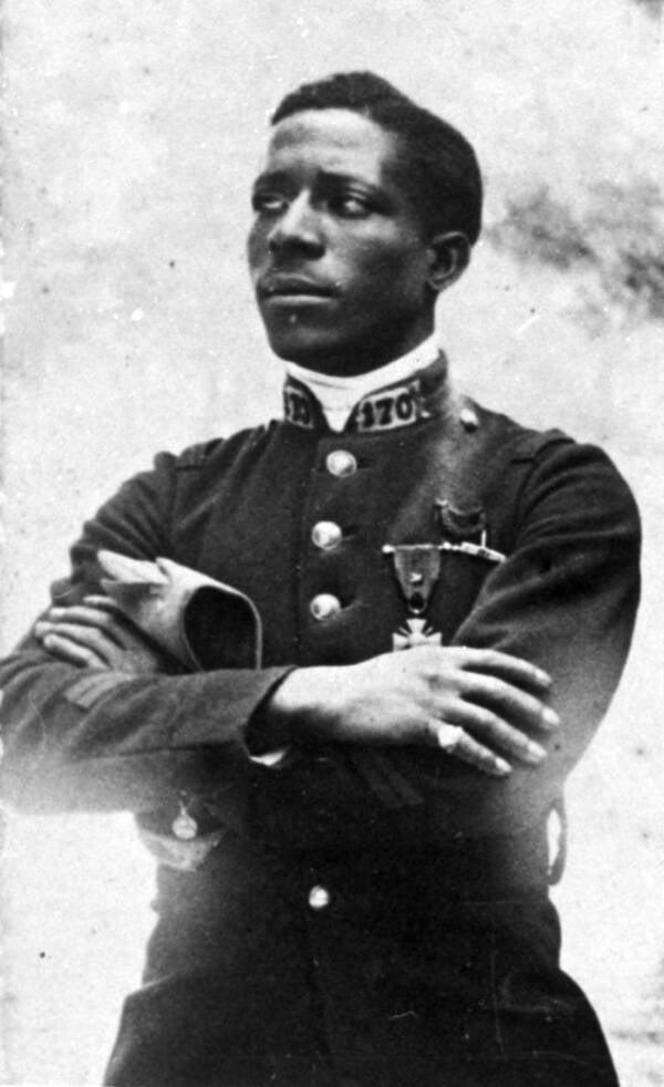 Eugene Bullard In Uniform