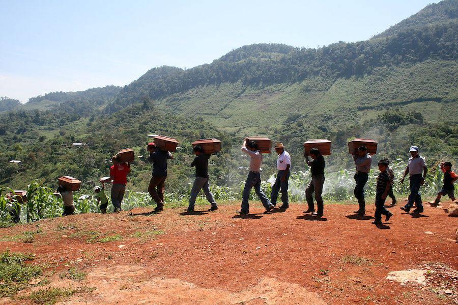 Exhumation In Guatemala