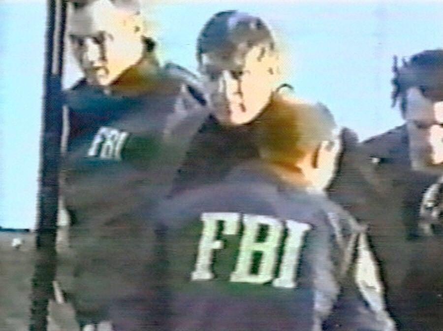 FBI Arresting Hanssen