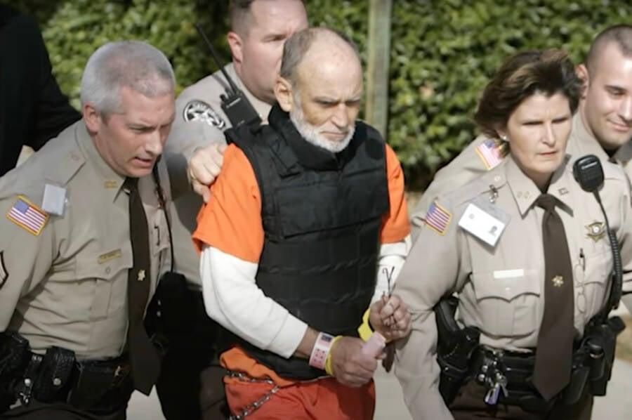 Gary Hilton In Handcuffs