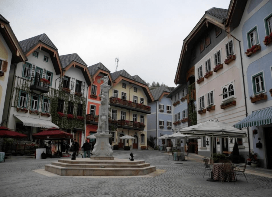 Replica Austrian Town Square