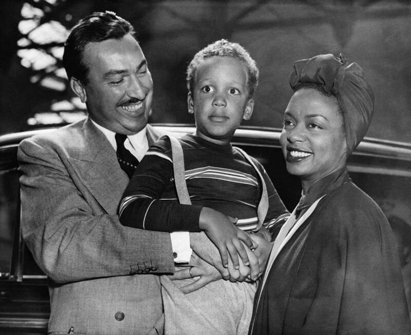 Hazel Scott e família