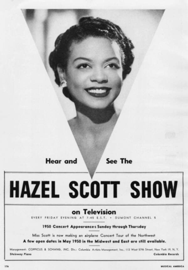 Hazel Scott Show Promo