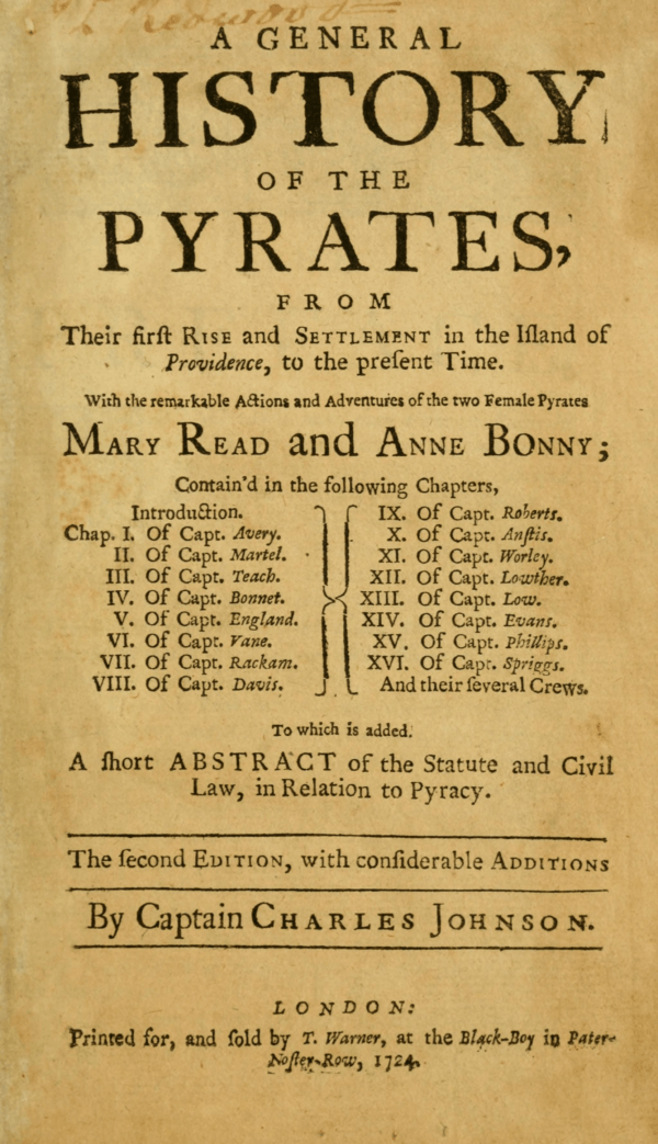 Book About Pirates