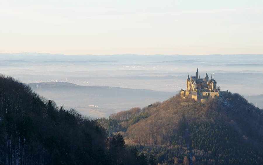 Hohenzollern In The Mist