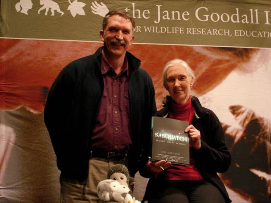 Jeffrey Meldrum And Jane Goodall