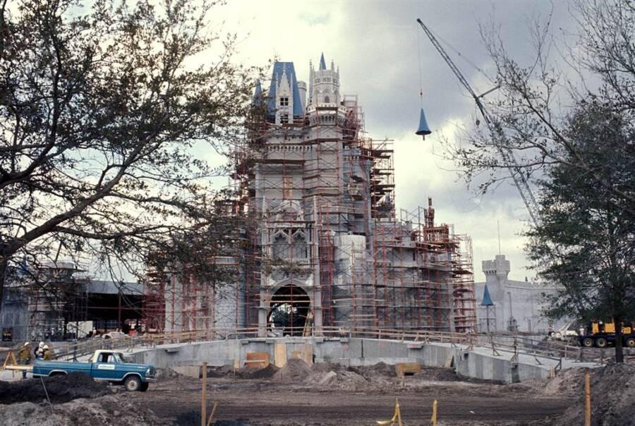 Magic Kingdom Under Construction