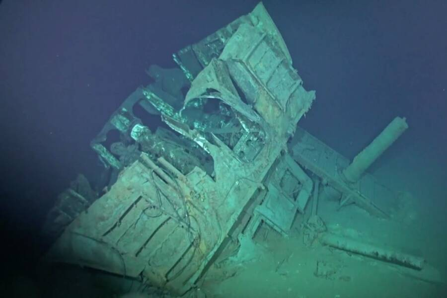 Shipwreck Of The Uss Johnston