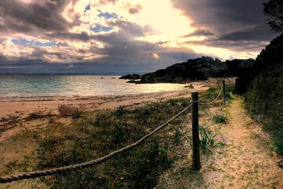 Sunset On The Isle Of Budelli