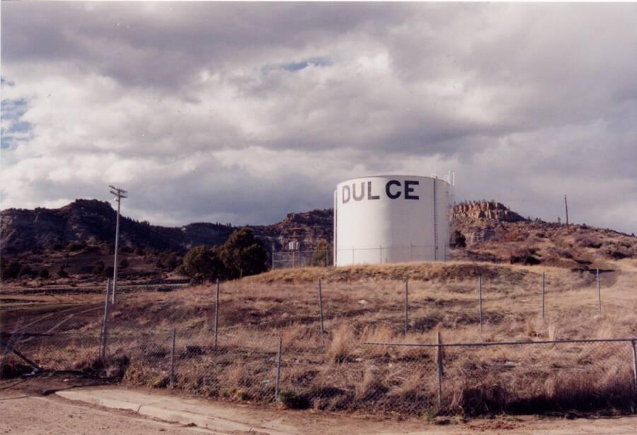 Water Reservoir Near Dulce Base