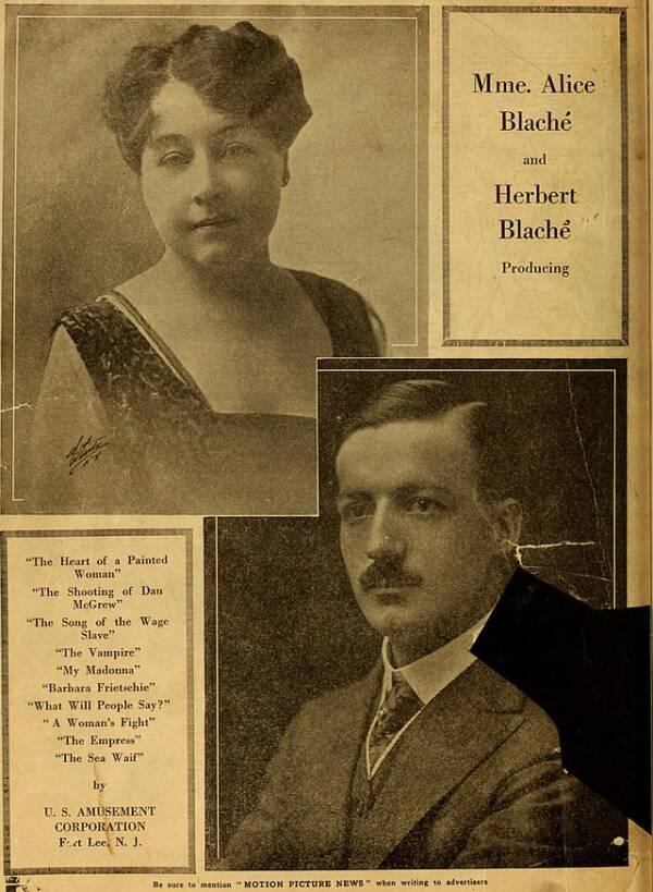 Alice Guy Herbert Blache