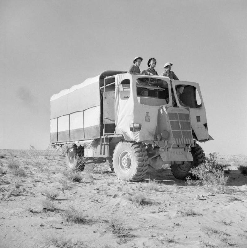 Armored Car Disguised As Truck