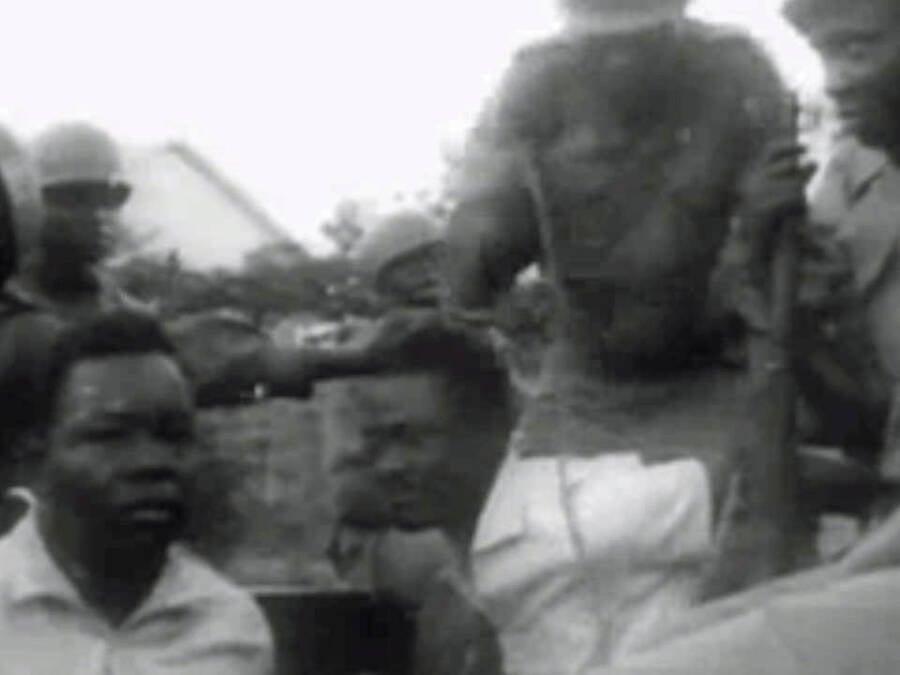 Arrest Of Patrice Lumumba