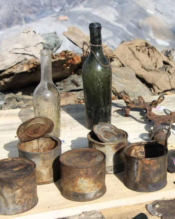 Bottles And Tins