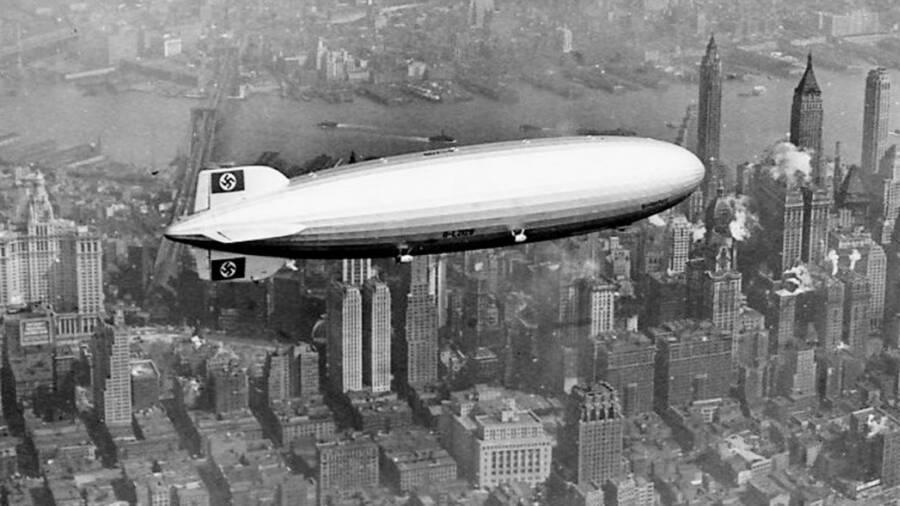 Hindenburg Over Manhattan