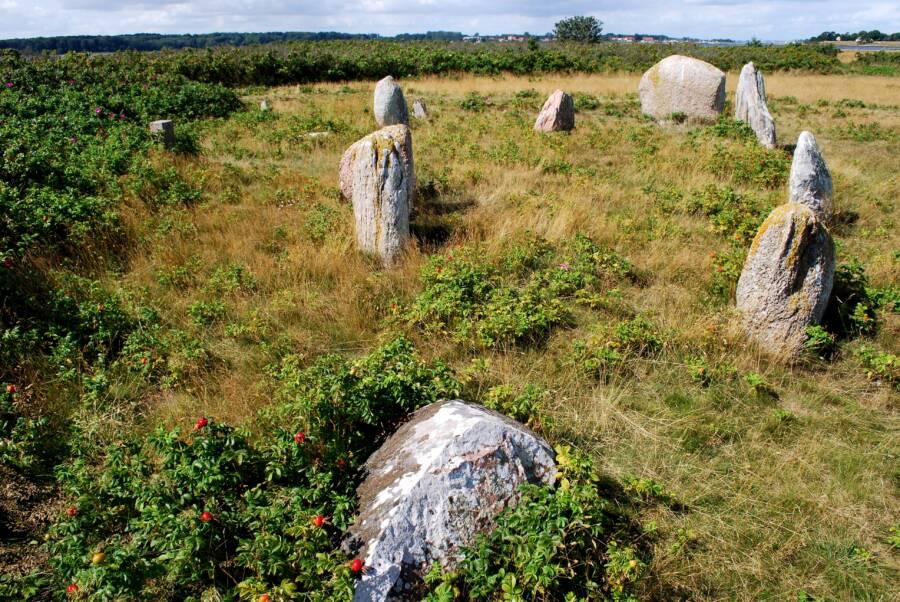 Hjarnø Grave Stones