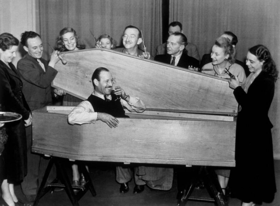 Jasper Maskelyne Coffin