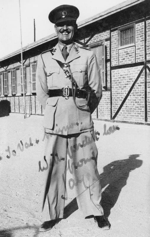 Jasper Maskelyne In Uniform