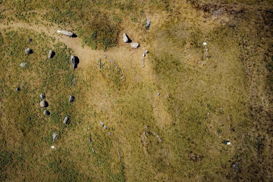 Kalvestene Viking Ship Burial Site