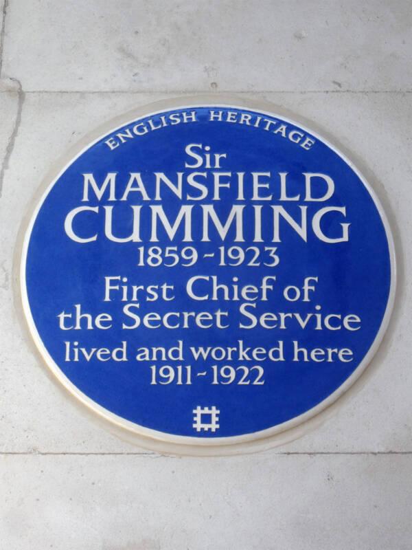 Mansfield Smith Cumming Plaque