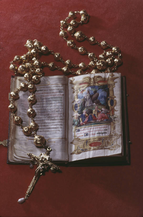 Mary Queen Of Scots Rosary Beads