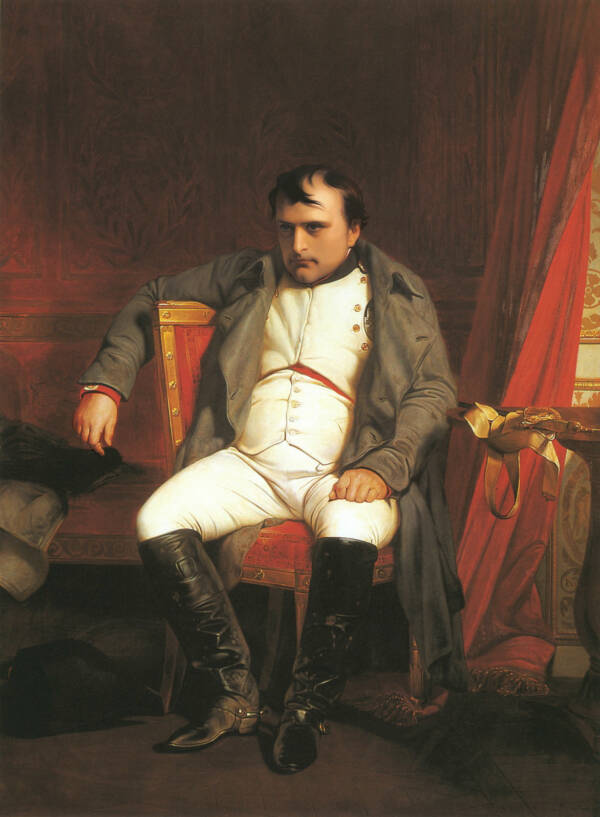 Napoleon After Abdication