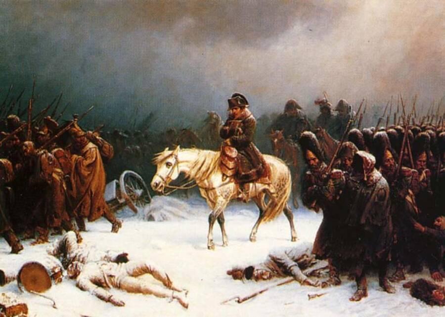 Napoleon Bonaparte In Moscow