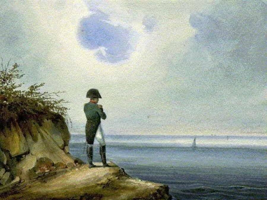 Napoleon On Saint Helena
