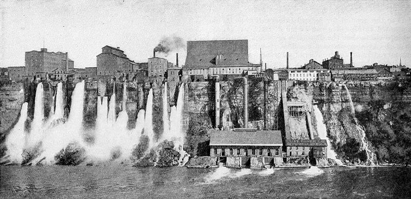 Niagra Falls Hydroelectric
