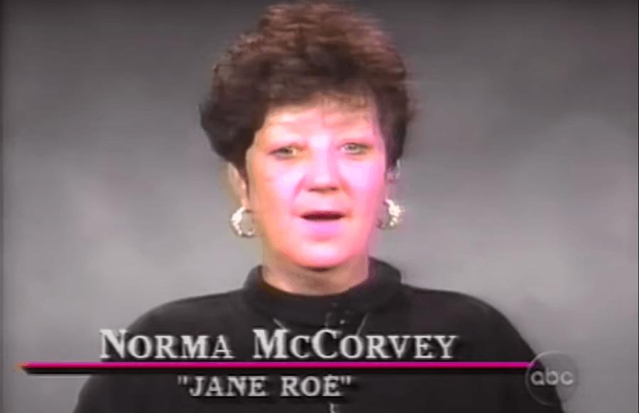Norma Mccorvey Dateline
