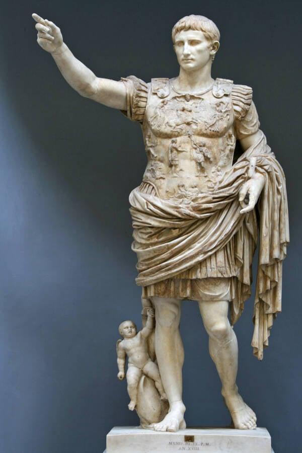 Octavian As Augustus