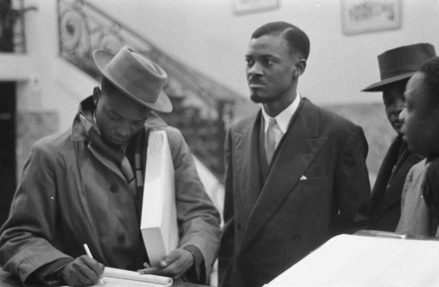 Patrice Lumumba In Brussels