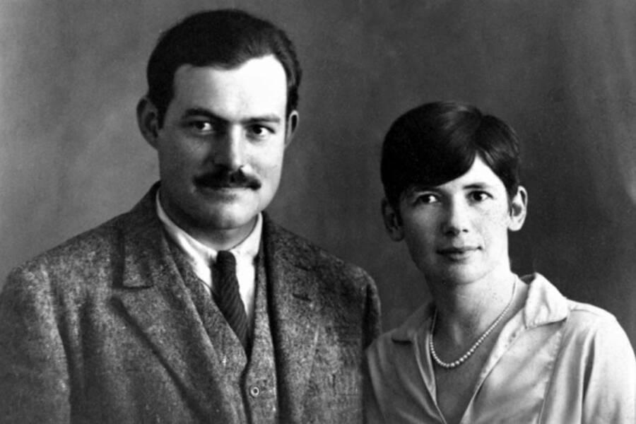 Pauline And Ernest Hemingway