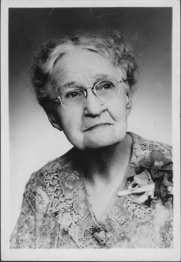 Portrait Of Susanna Salter
