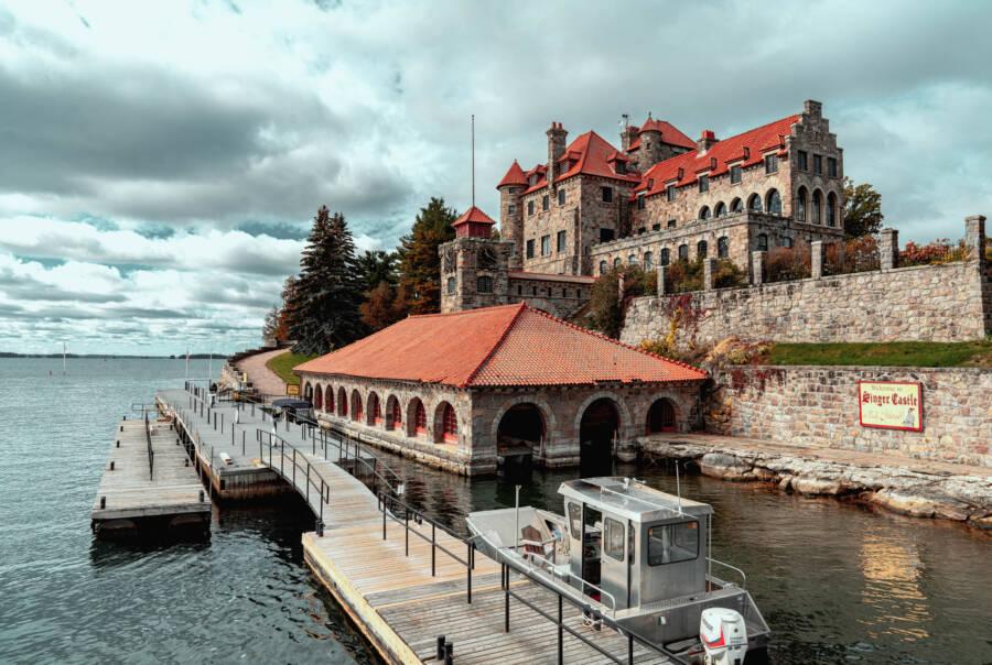 Singer Castle Boat Dock