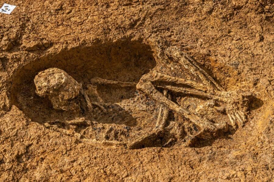 Taino Grave In Guadeloupe
